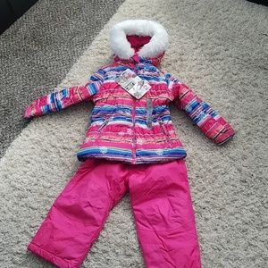 32 DEGREES 2 Piece Snow Bib and Jacket Set for Gir